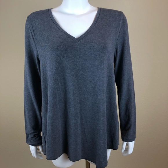 Womens Jumper V Neck Long Sleeve Top Simply Be